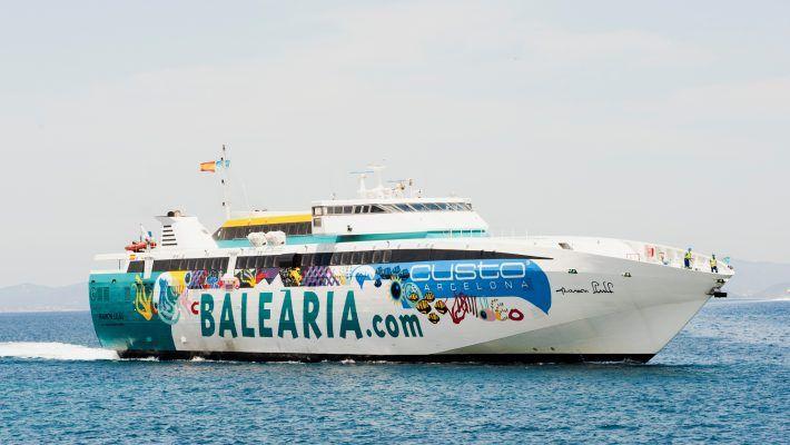 Baleària con CVTB