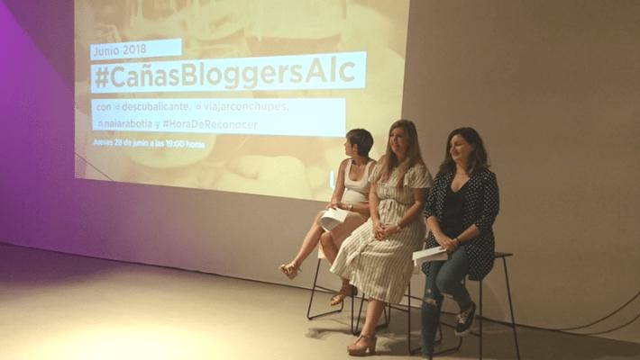 Presentación de la CVTB en Alicante: #cañasbloggeralc