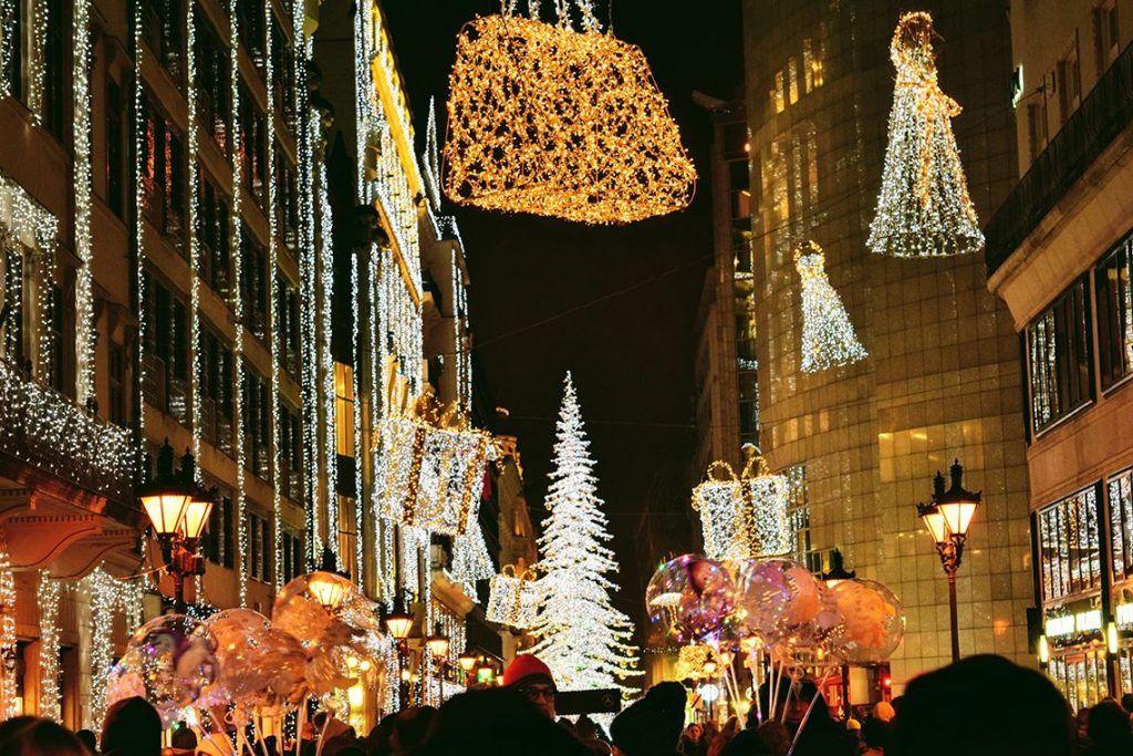Budapest en navidad