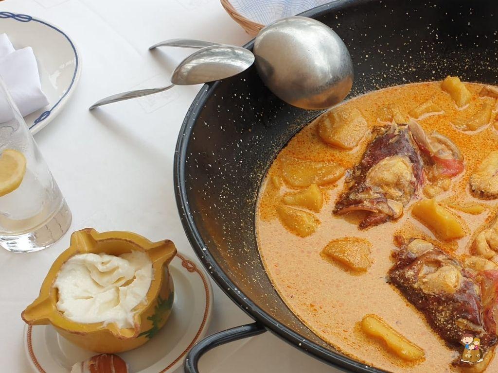 gastronomía El Campello Caldero
