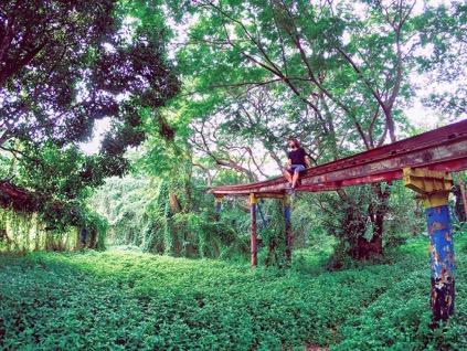 parque atracciones abandonado Myanmar