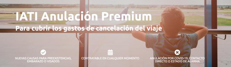 Condiciones Iati Anulación Premium